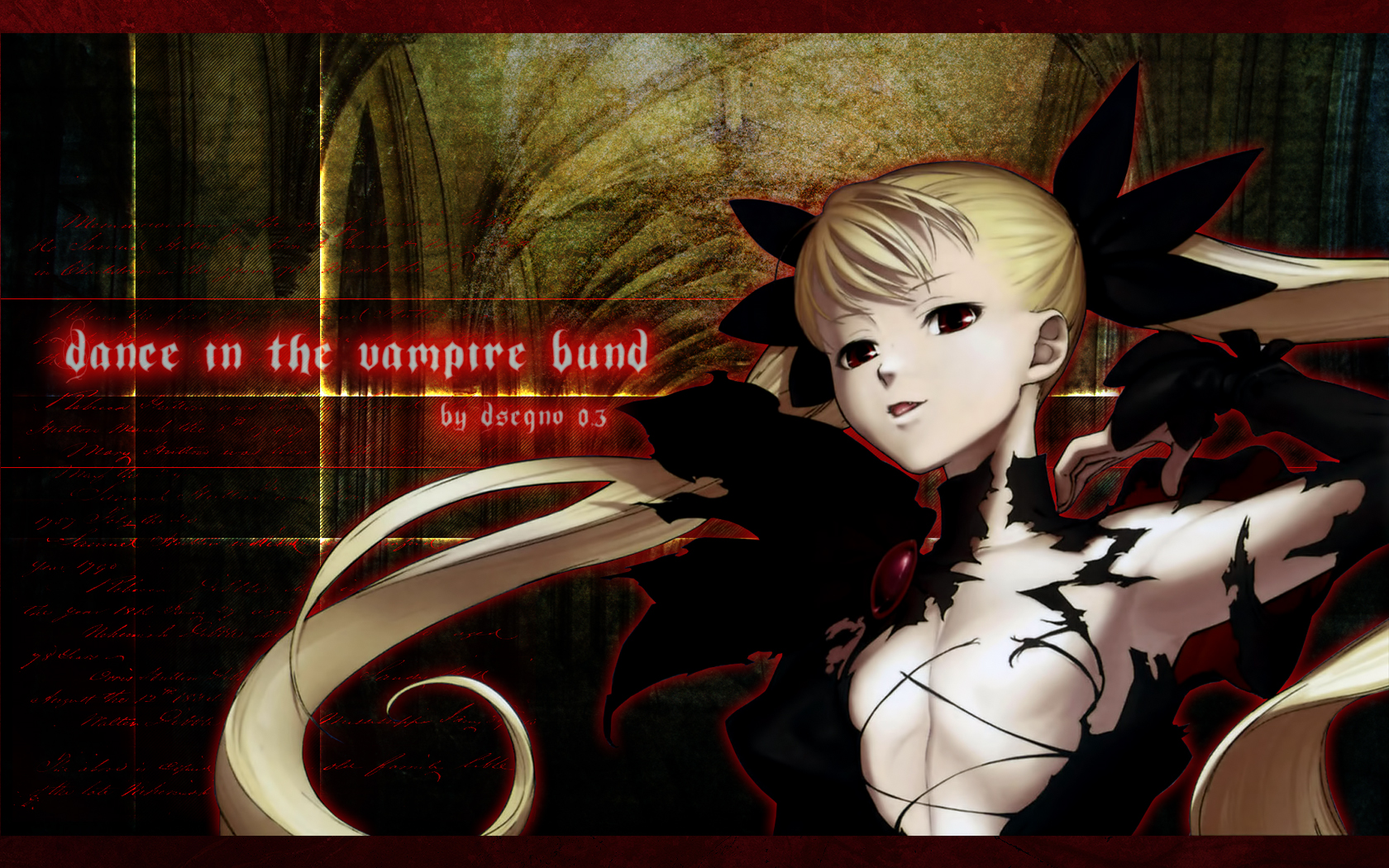 Dance In The Vampire Bund Wallpaper Zerochan Anime Image Board