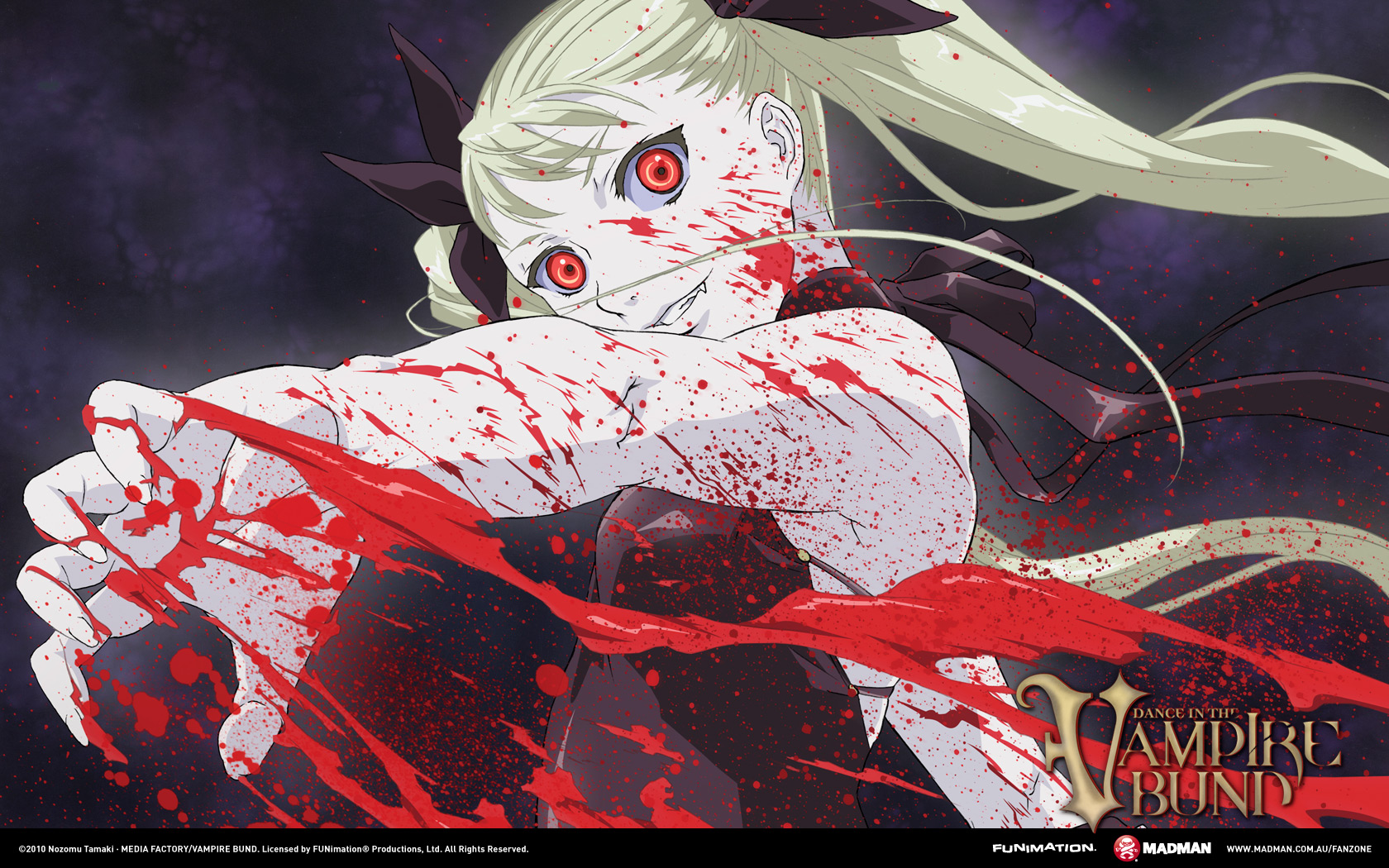 Mina Tepes Dance In The Vampire Bund Wallpaper 727936