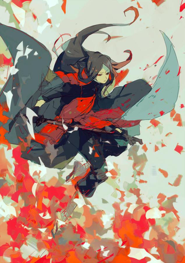 Tags: Anime, Minase Mmakina, NARUTO, Uchiha Madara, Pixiv, Mobile Wallpaper, Fanart