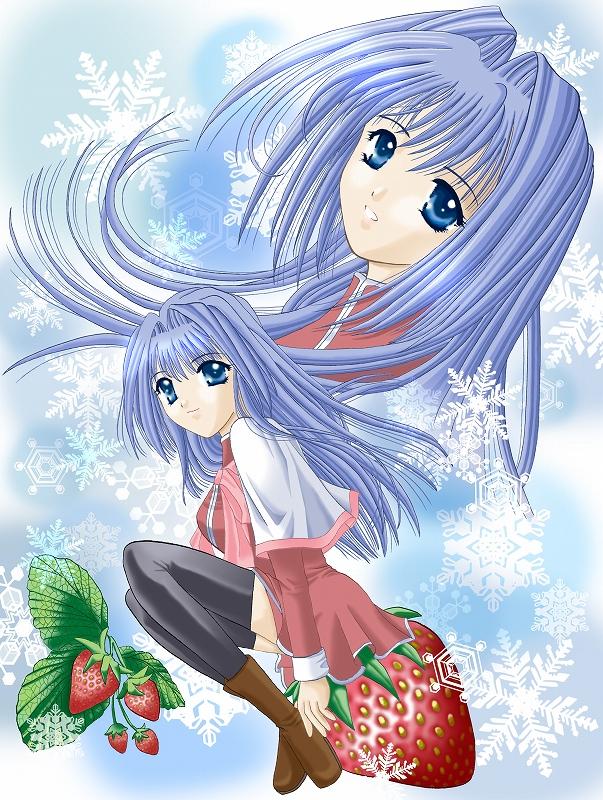 Tags: Anime, Mami (Hanyumaru), Kanon (KEY), Minase Nayuki