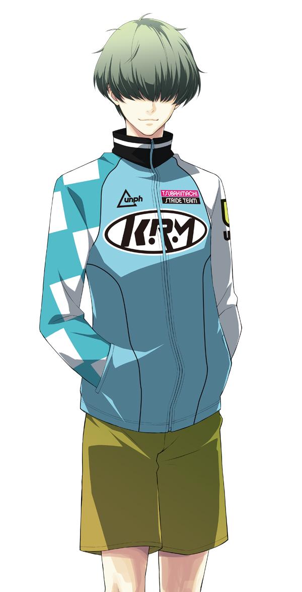 Tags: Anime, Nono Kanako, PRINCE OF STRIDE, Minato Shugo, PNG Conversion, Official Art