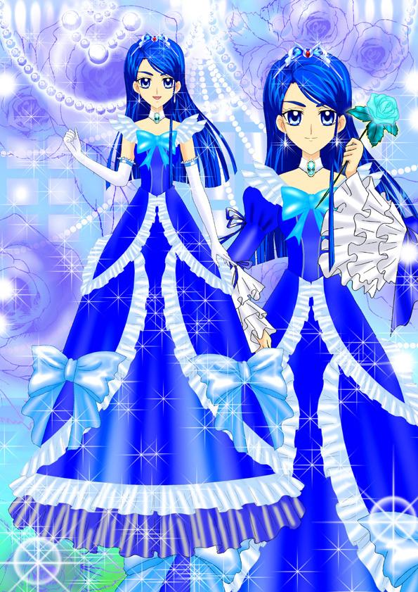 Tags: Anime, Luna Rune, Yes! Precure 5, Minazuki Karen, Gown, Fanart From Pixiv, Fanart, Pixiv