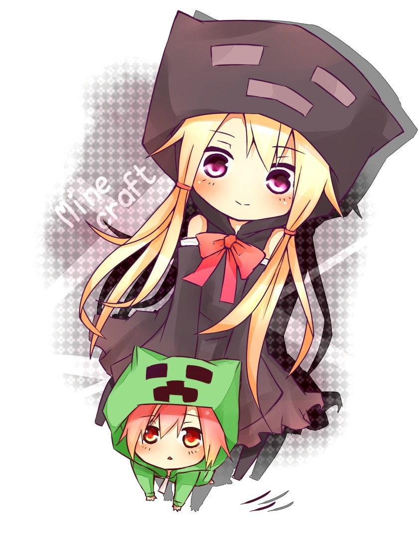 Картинки майникрафт аниме эндермэн фото 623-428