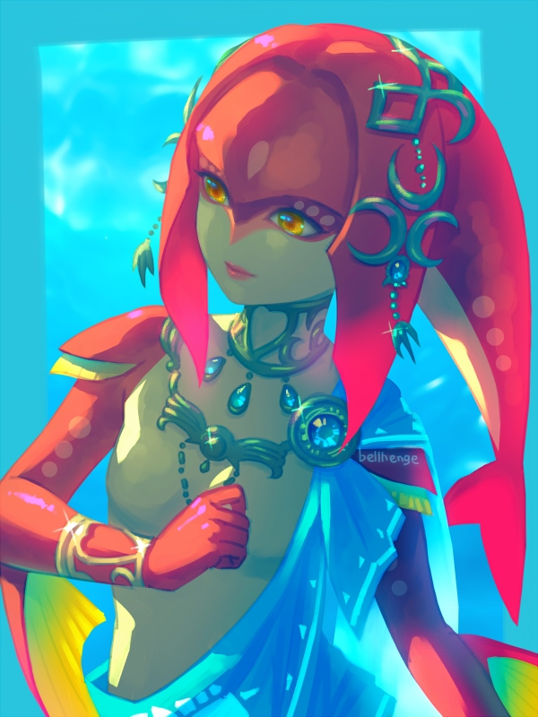mipha Breath of the cosplay wild
