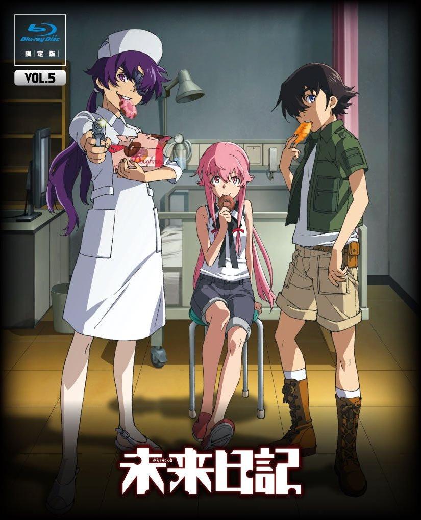 mirai nikki future diary official art zerochan anime