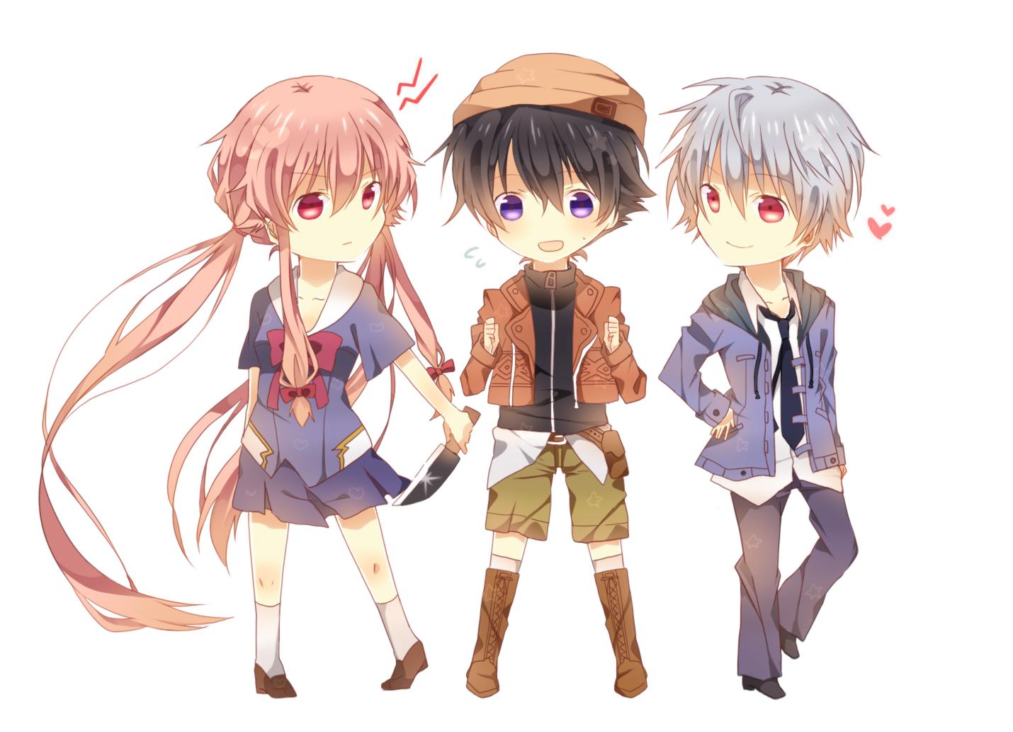 Character Design Zerochan : Mirai nikki zerochan