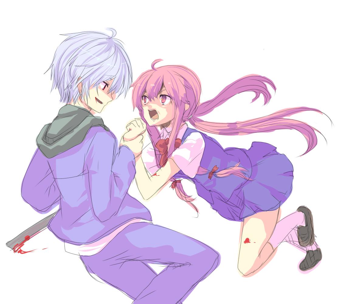 Yuno and Akise Aru