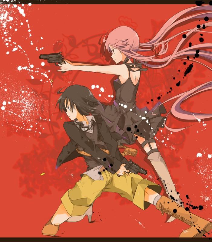 Tags Anime Pixiv Id 2120059 Mirai Nikki Gasai Yuno Amano Yukiteru