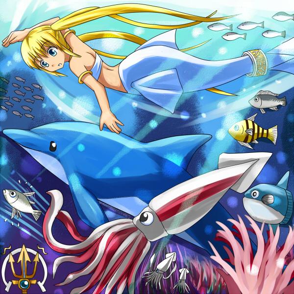 Tags: Anime, Miru, Dolphin, Original, Pixiv