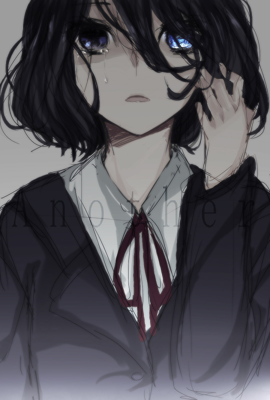 Tags: Anime, Pixiv Id 1152209, Another, Misaki Mei, Eyepatch Off, Beautiful Eyes, Pixiv, Fanart, Mobile Wallpaper, Fanart From Pixiv, PNG Conversion