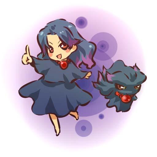 Tags: Anime, Hitec, Pokémon, Misdreavus, Fanart