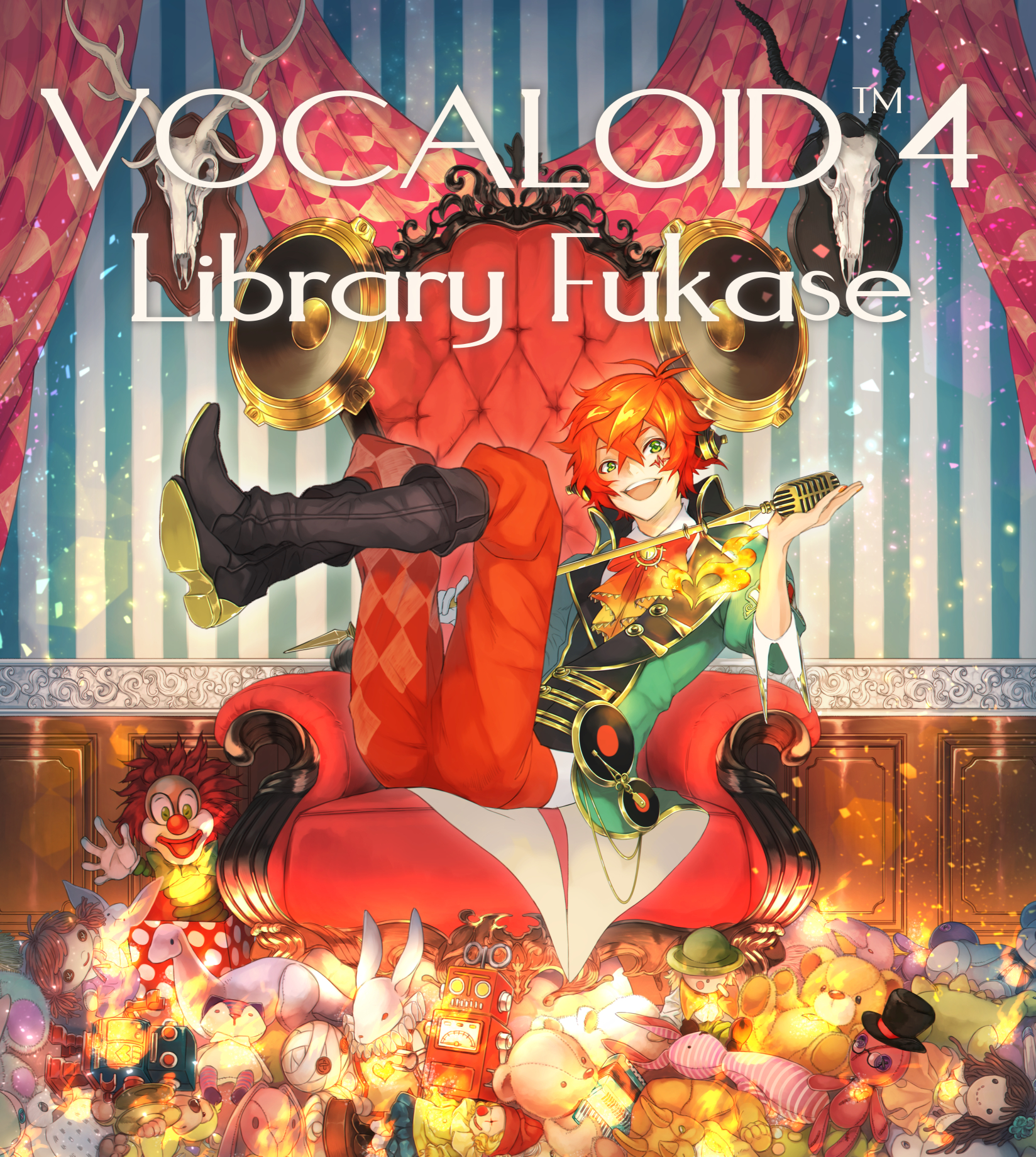 VOCALOID4 Library Fukase Character Design Contest - Fukase