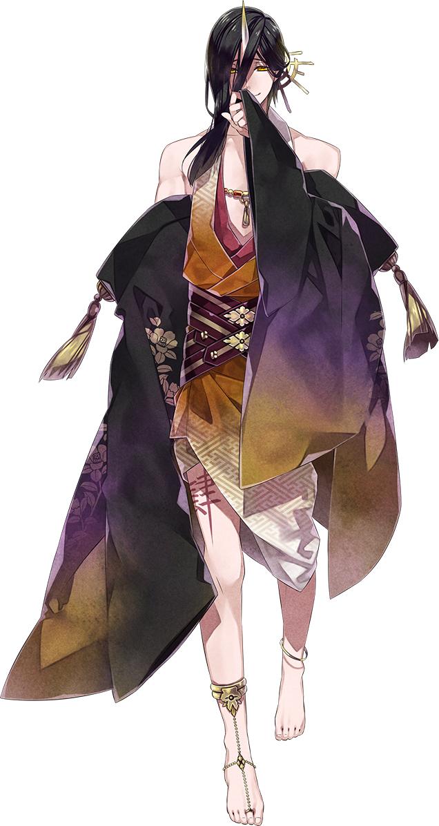 Tags: Anime, Teita, Rejet, Kousen Koi Yuami Jigoku Onsen ~Gensen Kakenagashi~, Mitsuhide (Kousen Koi Yuami Jigoku Onsen), Official Art, Mobile Wallpaper, PNG Conversion