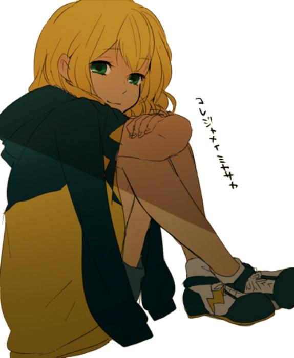 Tags: Anime, Tomo, Inazuma Eleven, Miyasaka Ryou, Pixiv, Fanart