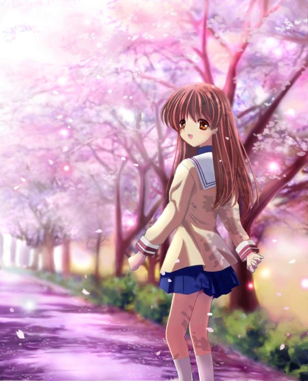 miyazawa yukine clannad zerochan anime image board