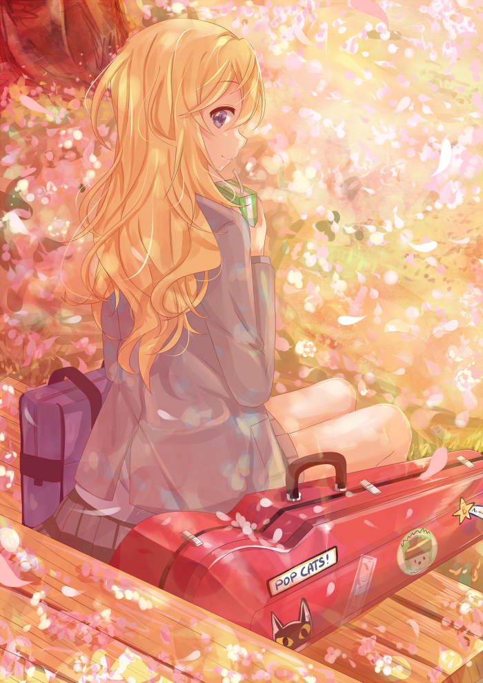 Shigatsu Wa Kimi No Uso Your Lie In April Mobile Wallpaper