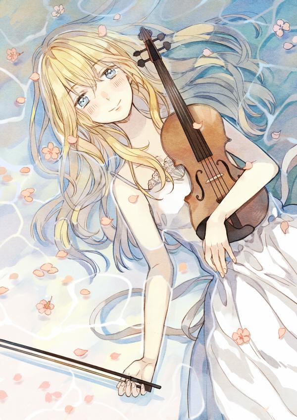 Shigatsu Wa Kimi No Uso Your Lie In April Mobile Wallpaper