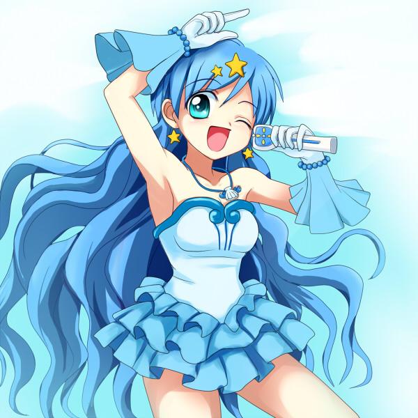 Tags: Anime, Miru, Mermaid Melody Pichi Pichi Pitch, Houshou Hanon, Mizuiro Pearl Voice, Fanart