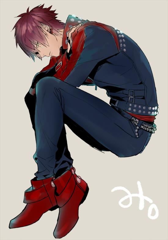 Tags: Anime, Fujiwara Ryo, Nitro+CHiRAL, DRAMAtical Murder, Mizuki (DMMd), Pixiv, Fanart, Fanart From Pixiv, Mobile Wallpaper