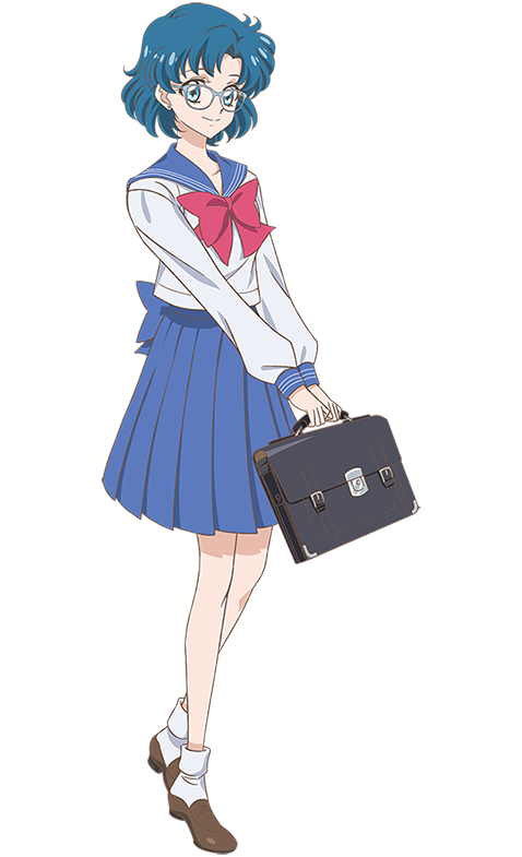 Tags: Anime, Takahashi Akira, Toei Animation, Bishoujo Senshi Sailor Moon, Mizuno Ami, Holding Bag, Mobile Wallpaper, PNG Conversion, Official Art, Requested Upload