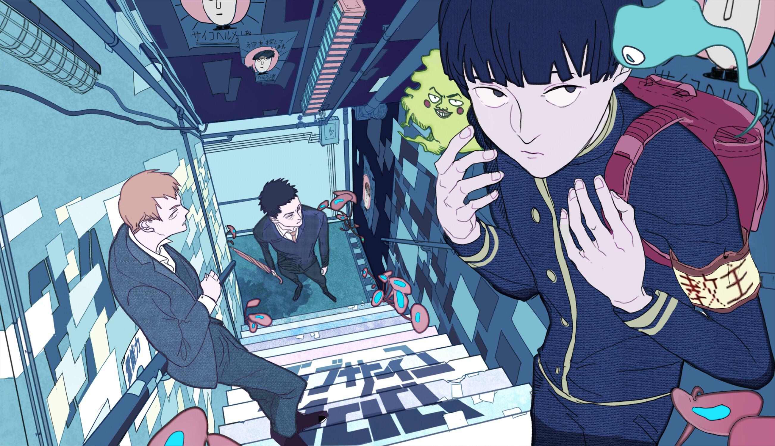 Mob Psycho 100 Zerochan Anime Image Board