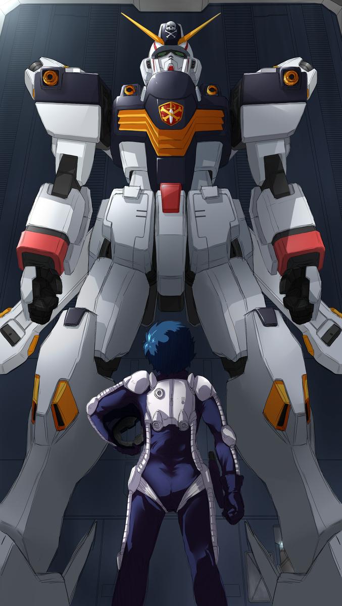 Tags: Anime, Satosi121, Mobile Suit Crossbone Gundam, Mobile Suit Gundam, Seabook Arno, Crossbone Gundam X-1, Pilot Uniform