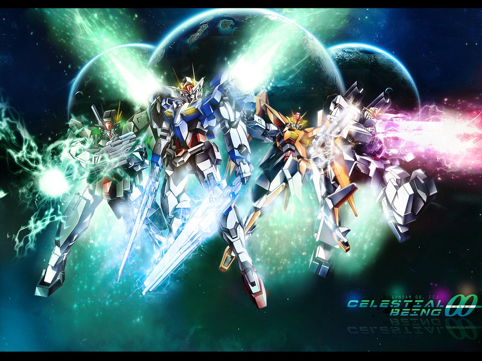 ... Planet, Fire, Mobile Suit Gundam 00, 1600x1200 Wallpaper, Mecha, Cyber