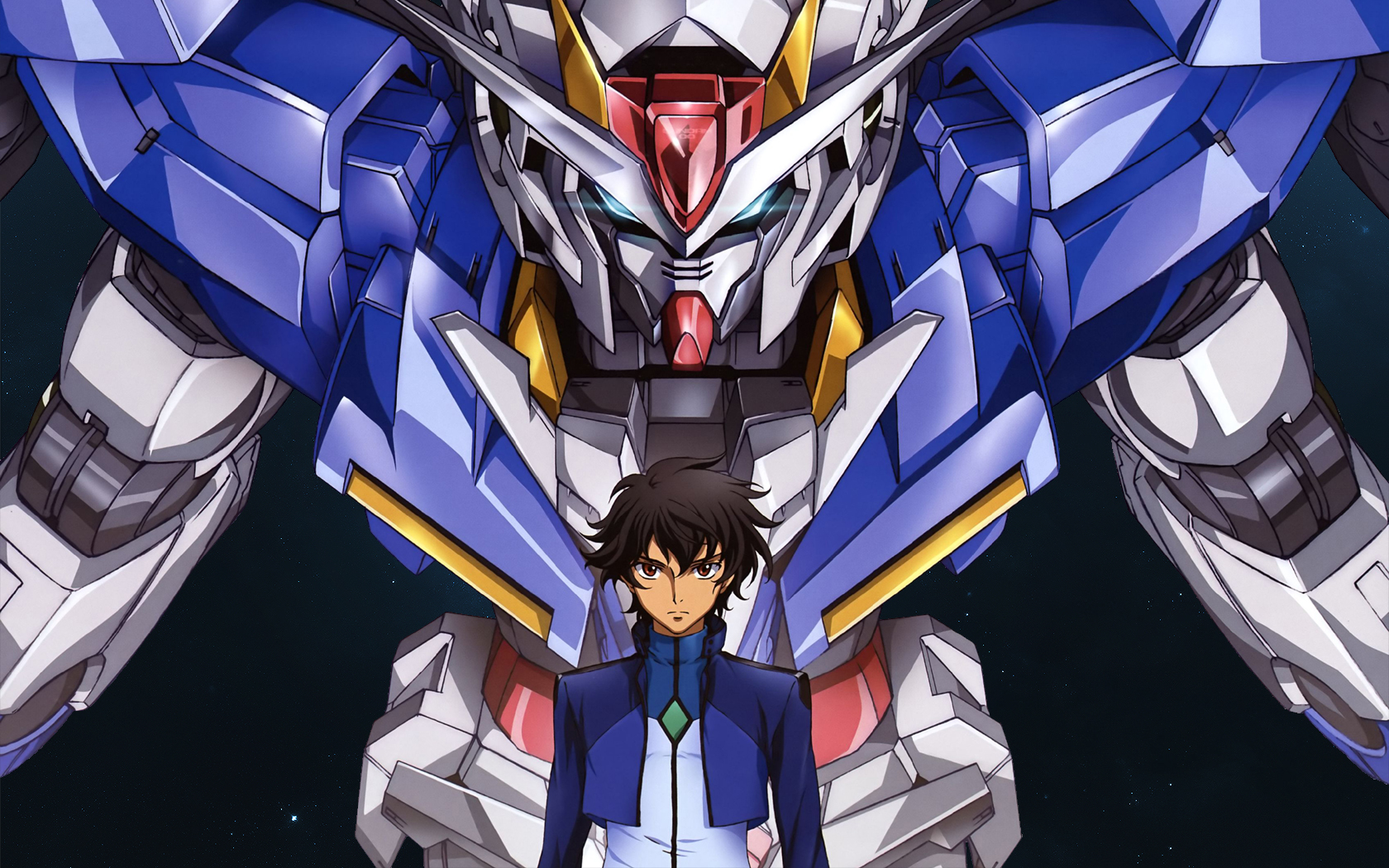 Mobile Suit Gundam 00 Wallpaper 189661 Zerochan Anime Image Board