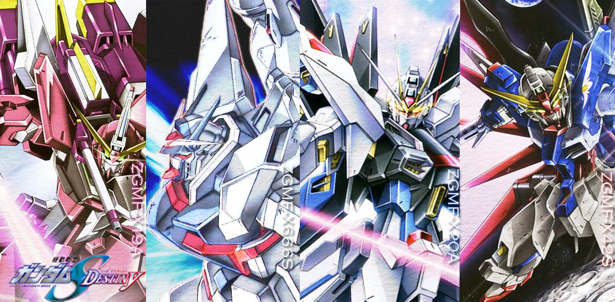 Mobile Suit Gundam SEED Destiny Wallpaper #1379771 - Zerochan ...