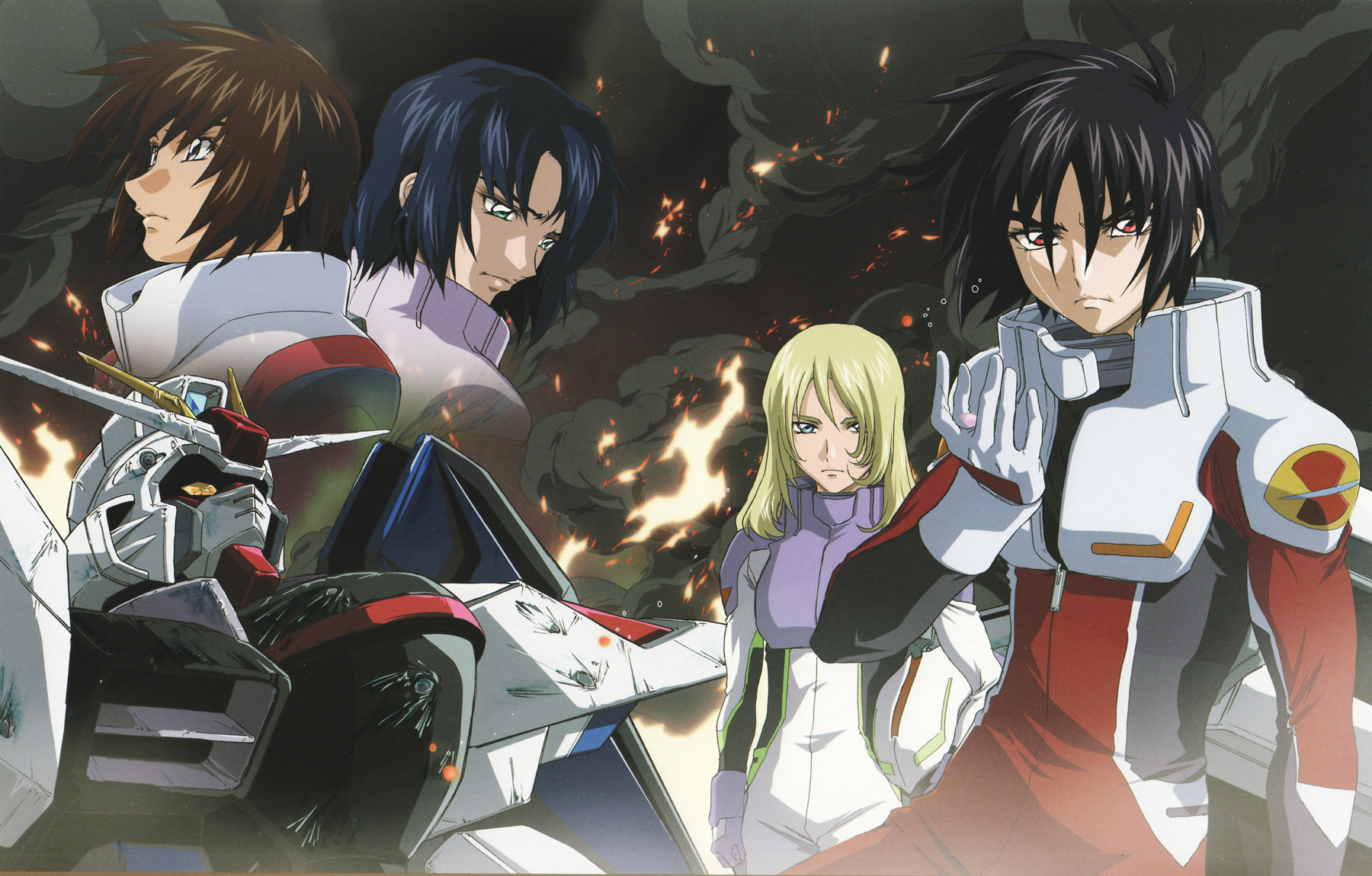 Mobile Suit Gundam Seed Destiny Complete Collection 2 Anime Legends Movie free download HD 720p