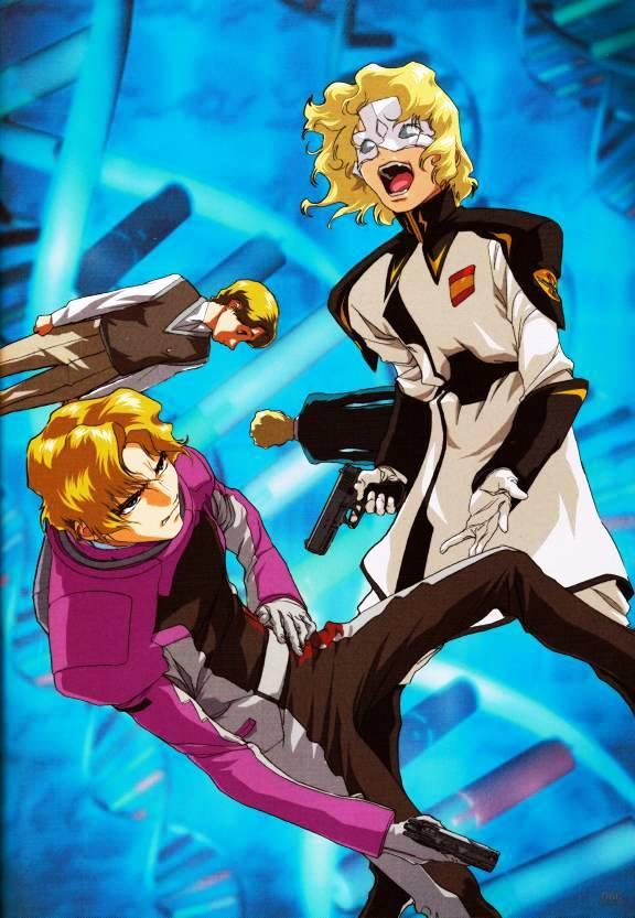 Tags: Anime, Mobile Suit Gundam SEED Destiny, Mobile Suit Gundam SEED, Mu La Flaga, Rau Le Creuset