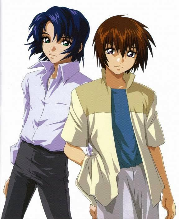 Tags: Anime, Mobile Suit Gundam SEED, Mobile Suit Gundam SEED Destiny, Kira Yamato, Athrun Zala