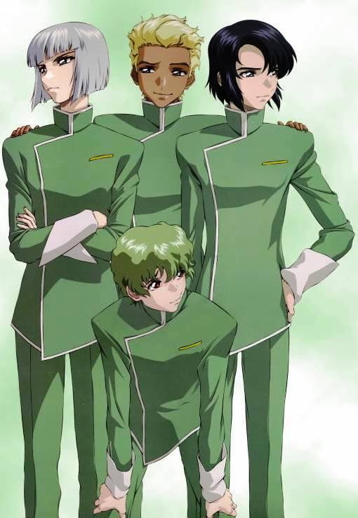 Tags: Anime, Mobile Suit Gundam SEED Destiny, Mobile Suit Gundam SEED, Nicol Amalfi, Athrun Zala, Dearka Elsman, Yzak Joule