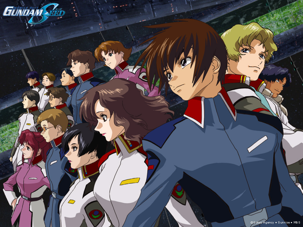 Gundam Seed Mobile Suits Mobile Suit Gundam SEED