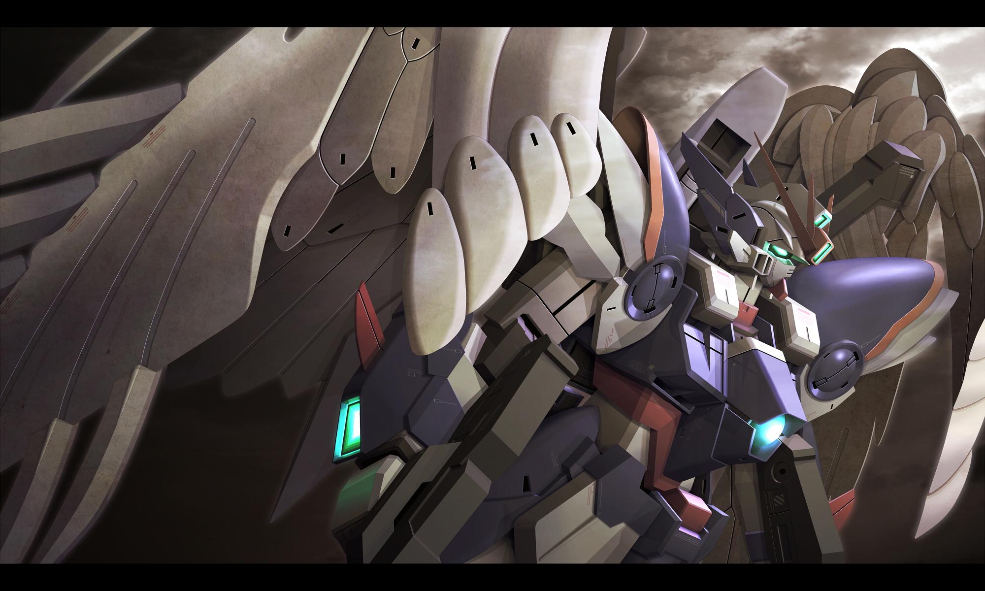 Mobile Suit Gundam Wing Wallpaper Zerochan Anime Image Board