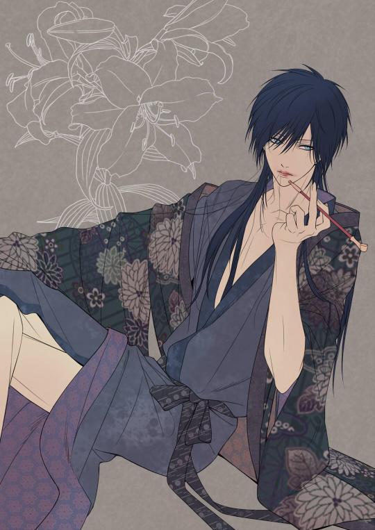 Tags: Anime, Mocchiri Oyaji, Smoking Pipe