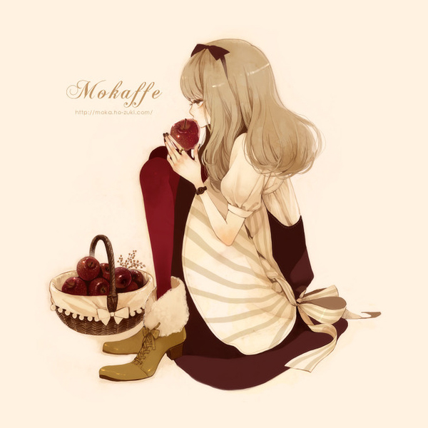 Tags: Anime, Mokaffe, Pixiv, Original
