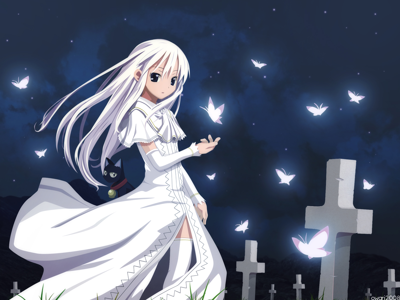 Anime Girl Shinigami Images & Pictures - Becuo