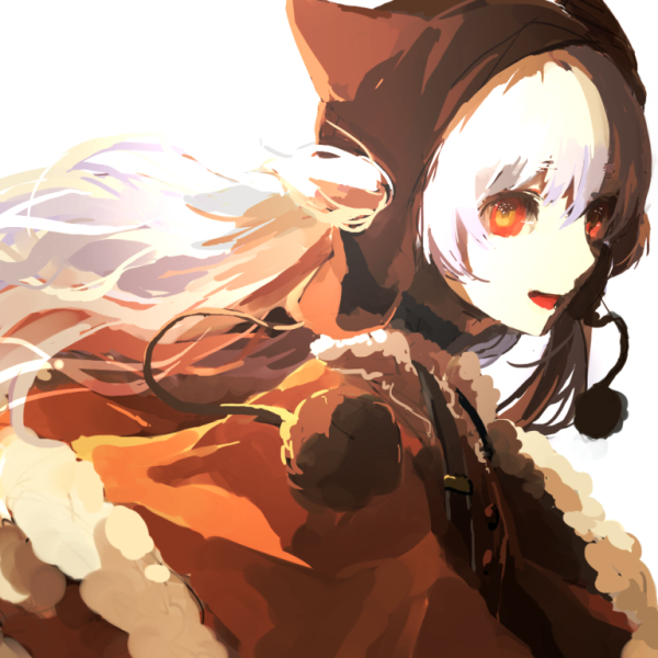 Tags: Anime, lemontea, Mahou Shoujo Madoka☆Magica, Momoe Nagisa, Orange Outerwear, Pixiv, Fanart, Fanart From Pixiv, PNG Conversion