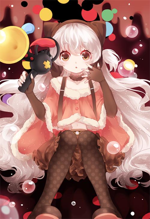Tags: Anime, Wei Cha Wai, Mahou Shoujo Madoka☆Magica, Momoe Nagisa, Fanart, PNG Conversion, Mobile Wallpaper