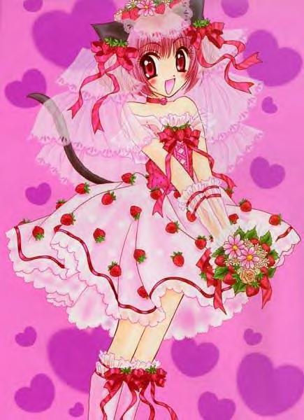 Tags: Anime, Ikumi Mia, Tokyo Mew Mew, Momomiya Ichigo, Manga Color, Scan, Zoey Hanson
