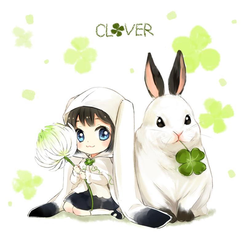 Картинки с кроликами аниме