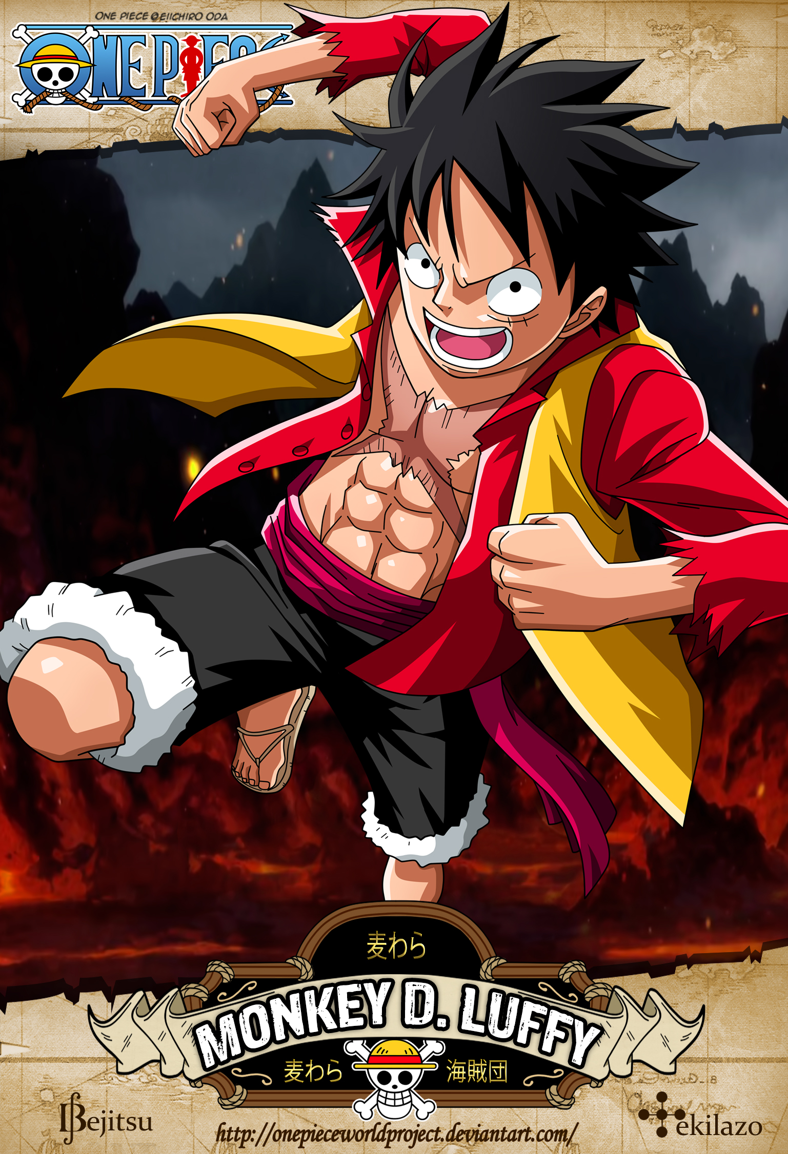 Monkey D Luffy One Piece Mobile Wallpaper 1823647