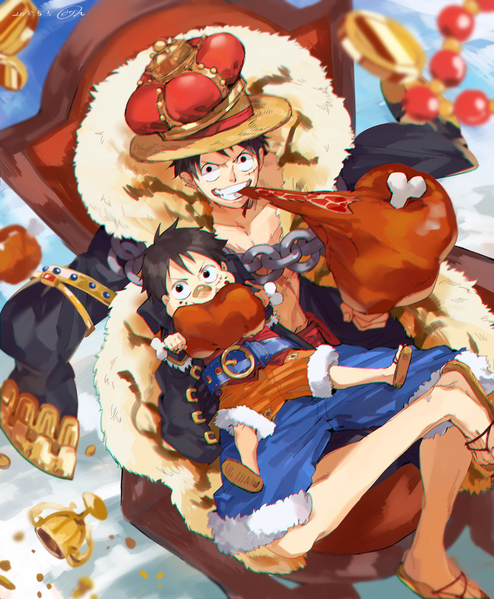 Monkey D Luffy One Piece Image 2315142 Zerochan