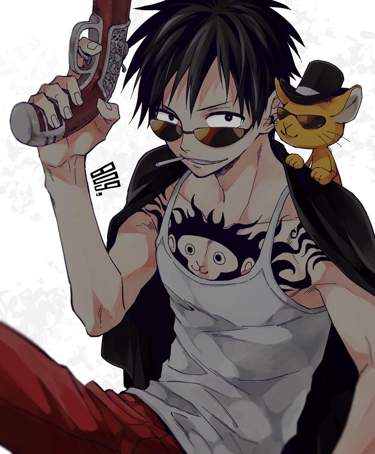 One Piece Monkey D Luffy Fanart