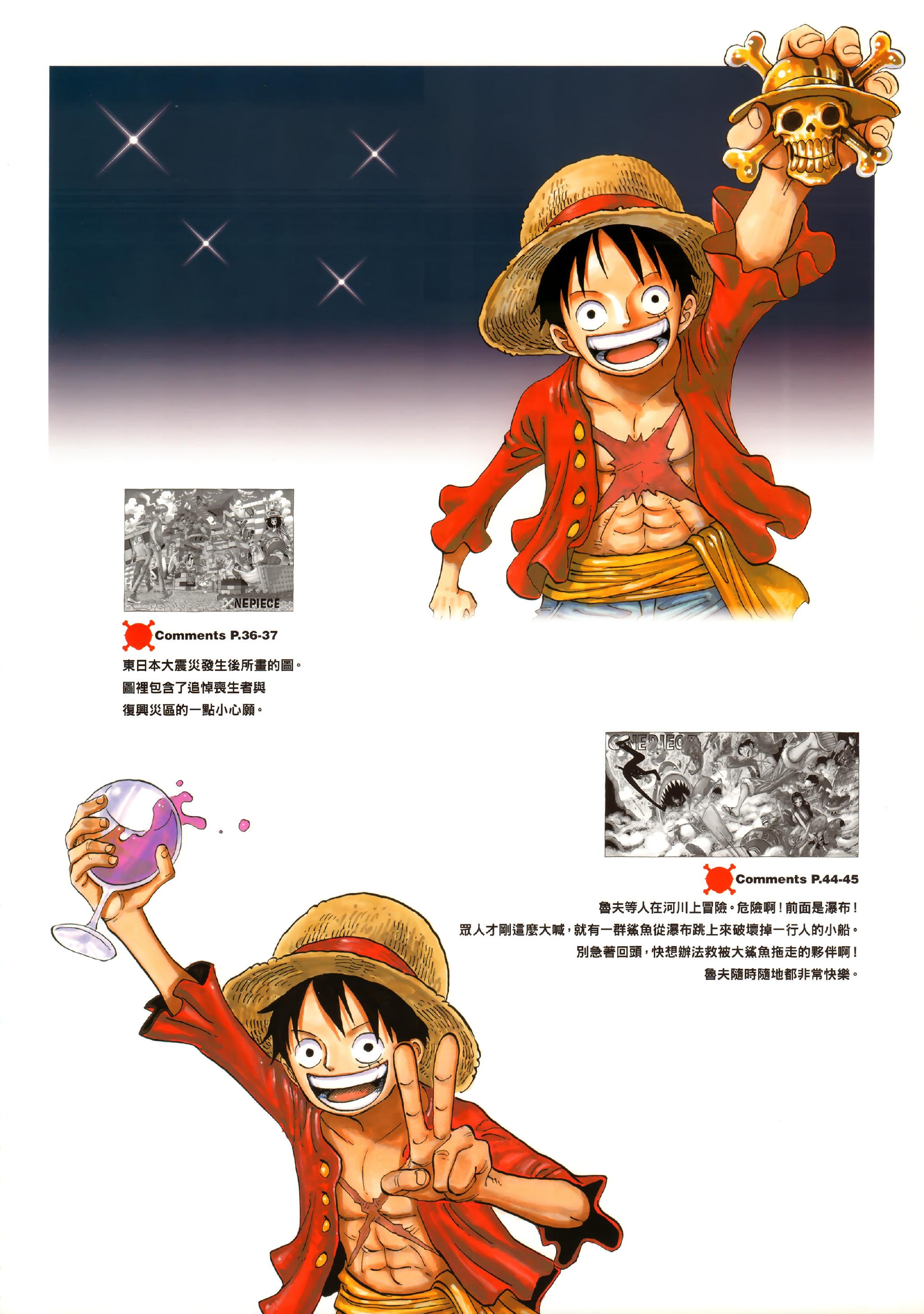 Tags anime oda eiichirou one piece monkey d luffy color