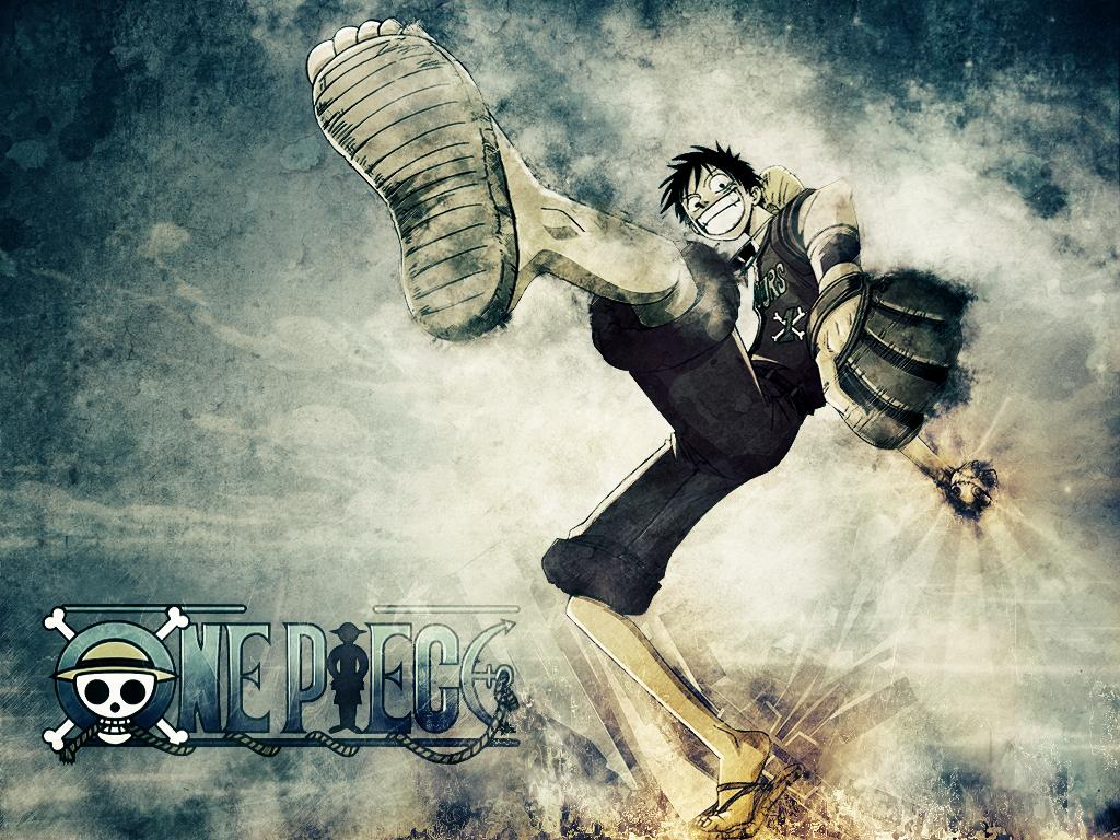 Tags Anime ONE PIECE Monkey D Luffy Wallpaper Fanmade