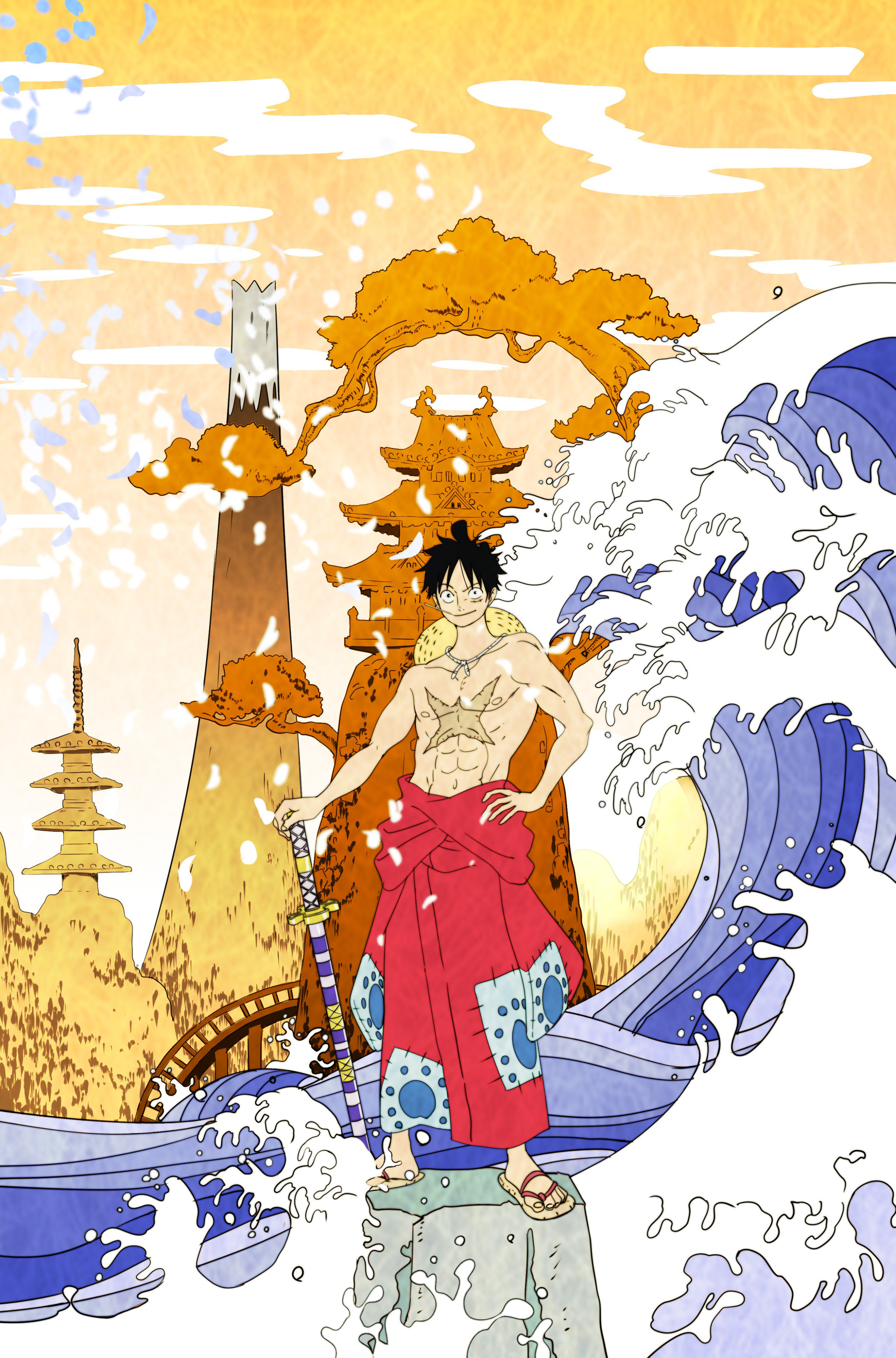 One Piece Wano Kuni Wallpaper Hd Hd Blast