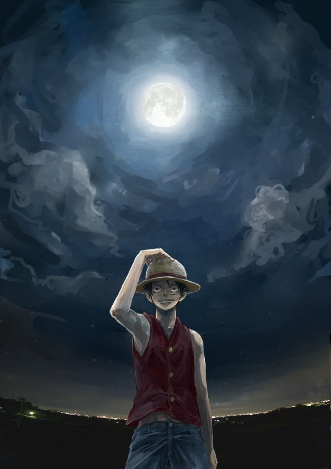 Tags: Anime, Crimson11, ONE PIECE, Monkey D. Luffy, Mobile Wallpaper