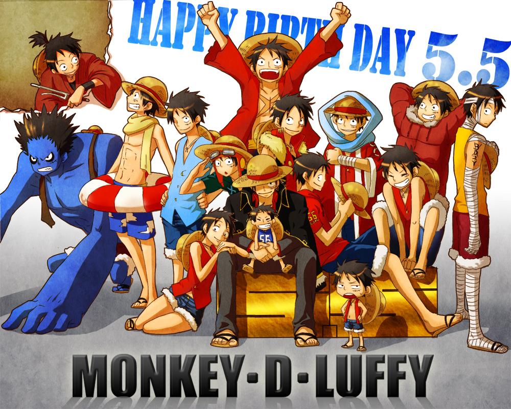 Monkey D Luffy One Piece Image 726369 Zerochan Anime